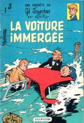 Gil Jourdan -3a1967- La voiture immergée