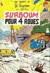 Gil Jourdan -6a67- Surboum pour 4 roues