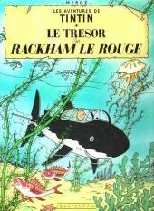 Tintin (Historique) -12C2- Le trésor de Rackham Le Rouge