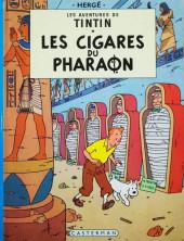 Tintin (Historique) -4C4- Les cigares du pharaon