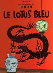 Tintin (Historique) -5C5- Le lotus bleu