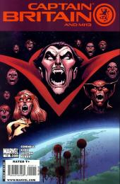 Captain Britain and MI13 (2008) -12- Vampire State (Part Two)