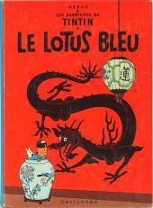 Tintin (Historique) -5B36- Le lotus bleu