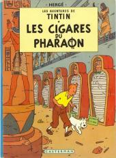 Tintin (Historique) -4B36- Les cigares du pharaon
