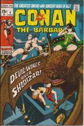 Conan the Barbarian Vol 1 (Marvel - 1970) -6- Devil-wings over Shadizar !