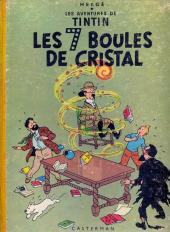 Tintin (Historique) -13B17- Les 7 boules de cristal