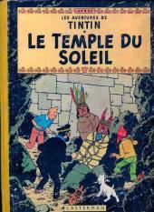 Tintin (Historique) -14B17- Le temple du soleil