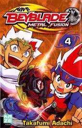 Beyblade Metal -4- Tome 4 / Metal Fusion