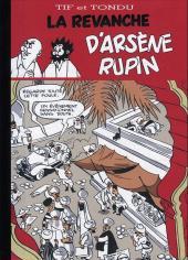 Tif et Tondu -PIR2a- La Revanche d'Arsène Rupin