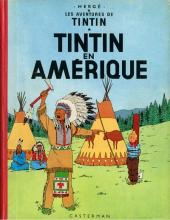 Tintin (Historique) -3B30- Tintin en Amérique