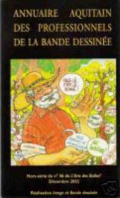 (DOC) Études et essais divers - Annuaire aquitain des professionnels de la bande dessinée