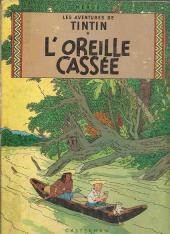 Tintin (Historique) -6B35- L'oreillle cassée