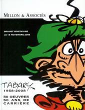 (Catalogues) Ventes aux enchères - Millon - Millon & Associés - Tabary 1958-2008 - 15 novembre 2008 - Paris Drouot Montaigne