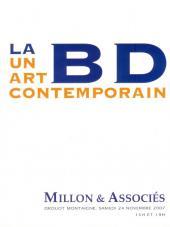 (Catalogues) Ventes aux enchères - Millon - Millon & Associés - La BD un art contemporain - samedi 24 novembre 2007 - Paris Drouot Montaigne