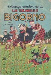 La famille Bigorno -19- L'étrange randonnée de la famille Bigorno
