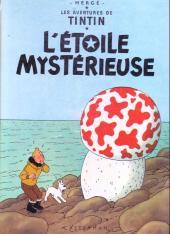 Tintin (Historique) -10C6- L'étoile mystérieuse