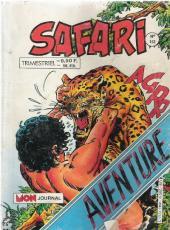 Safari (Mon Journal) -162- Le papillon rouge du matin