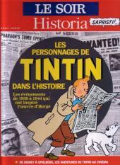 Tintin - Divers -60''- Les Personnages de Tintin dans l'Histoire