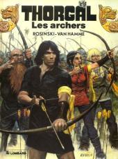 Thorgal -9a91- Les archers