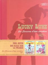 Lucky Luke - Les Dessous d'une création (Atlas) -25- Phil Defer - Des Rails sur la Prairie