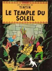 Tintin (Historique) -14C1- Le temple du soleil