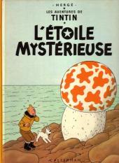 Tintin (Historique) -10B39- L'étoile mystérieuse