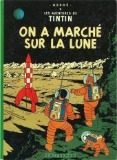 Tintin (Historique) -17B39- On a marché sur la lune