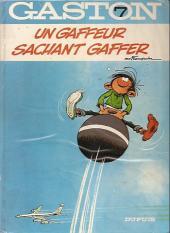 Gaston -7a1982- Un gaffeur sachant gaffer