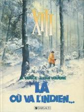 XIII -2a1994- Là où va l'indien...