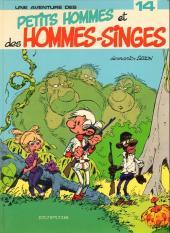 Les petits hommes -14a84- Petits hommes et des hommes-singes