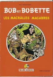 Bob et Bobette (Publicitaire) -Marc2- Les Macrâlles Macabres