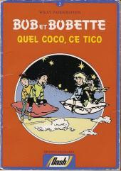 Bob et Bobette (Publicitaire) -Da02- Quel coco, ce Tico