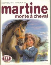 Martine -16a- Martine monte à cheval