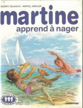 Martine -25b- Martine apprend à nager