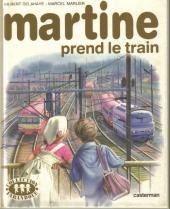 Martine -28b- Martine prend le train