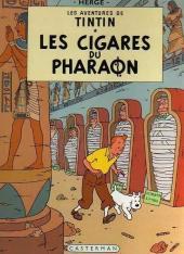 Tintin (Historique) -4B42- Les cigares du pharaon
