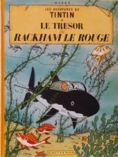 Tintin (Historique) -12B31- Le trésor de Rackham Le Rouge