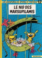 Spirou et Fantasio -12f90- Le nid des Marsupilamis