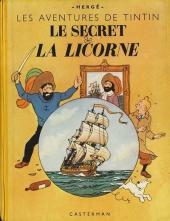 Tintin (Historique) -11B02 jaune- Le secret de la Licorne