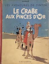 Tintin (Historique) -9B02- Le crabe aux pinces d'or