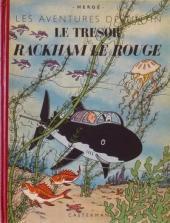 Tintin (Historique) -12B03- Le trésor de Rackham Le Rouge