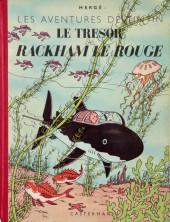 Tintin (Historique) -12B02- Le trésor de Rackham Le Rouge