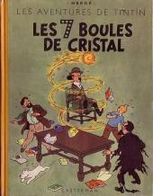 Tintin (Historique) -13B04- Les 7 boules de cristal