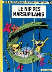 Spirou et Fantasio -12c75- Le nid des Marsupilamis