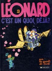 Léonard -3b1985- Léonard, c'est un quoi, déjà ?