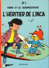 Le scrameustache -1a1982- L'héritier de l'inca