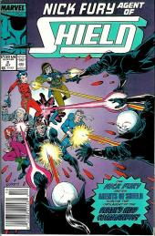 Nick Fury, agent of S.H.I.E.L.D. (1989) -2- A web with many strands
