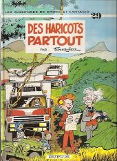 Spirou et Fantasio -29c90- Des haricots partout