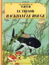 Tintin (Historique) -12B24- Le trésor de Rackham Le Rouge