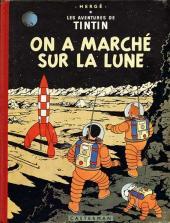 Tintin (Historique) -17B24- On a marché sur la lune